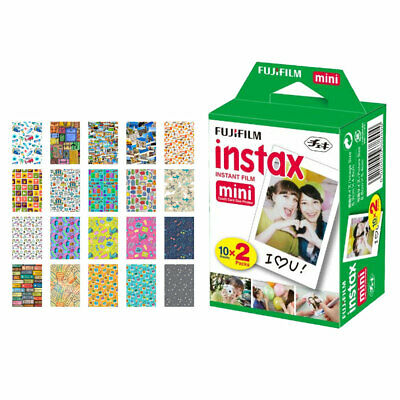 Fujifilm instax mini Instant Film (20 Exposures) + Travel Frames Package