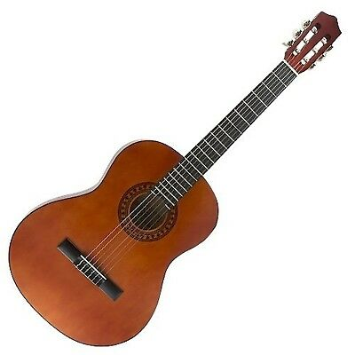 25016272 3/4 Size Classical Guitar Durable Solid Maple Fingerboard