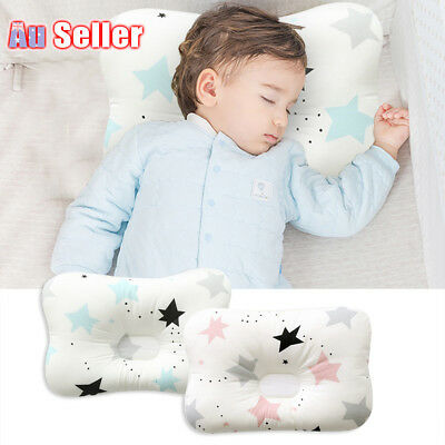 Baby Infant Neck Syndrome Support Square Pillow Newborn Prevent Flat Head