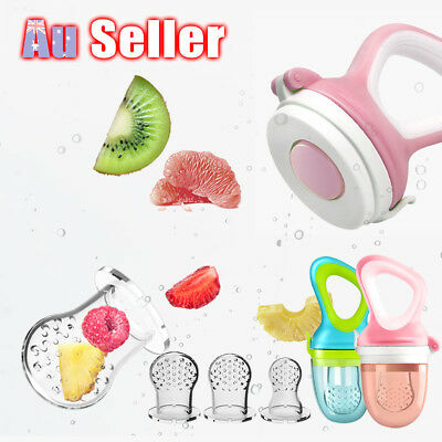 Newborn Baby Food Fruit Nipple Feeder Pacifier Safety Soft Silicone Feeding Tool