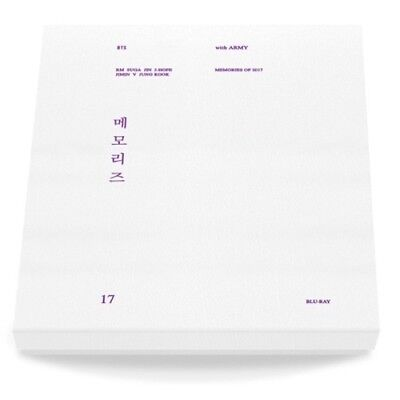 BTS-[Memories Of 2017]Blu-Ray+Paper PhotoCard Frame+1p PhotoCard+Tracking Number