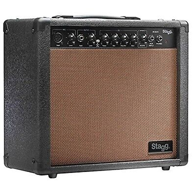 20 AA R UK 20W Acoustic Guitar Amplifier with Spring Reverb
