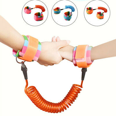 Toddler Kids Baby Safety Walking Harness Anti-lost Strap Wrist Leash Hand Belt