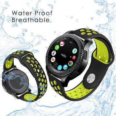 22mm Silicone Bracelet Strap Watch Band For Samsung Gear S3 Frontier/Classic Hot