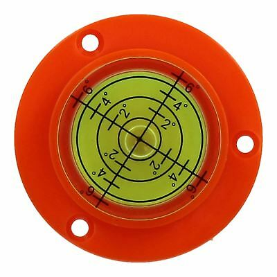50mm Bull Eye Level Spirit Bubble Orbit Surface 0 - 6 degree Levelling Area