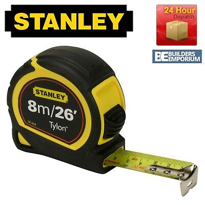 Stanley Tylon 8m / 26ft Pocket Tape Measure with 30-656
