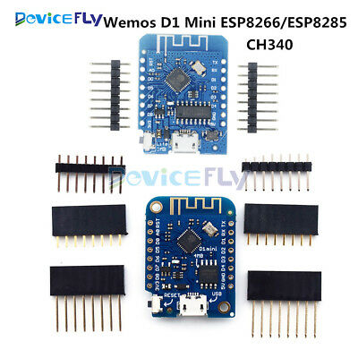 WEMOS D1 Mini ESP8266/ESP8285 CH340 WIFI Internet Development Board For Arduino