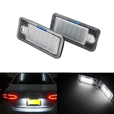 2x TOP LED SMD Kennzeichenbeleuchtung Audi A4 8E2 8E B6 Limo CB S4 RS4