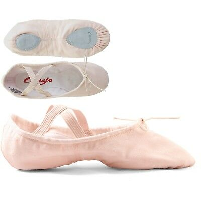 Capezio 2030 Cobra Split Sole Canvas Ballet Shoes