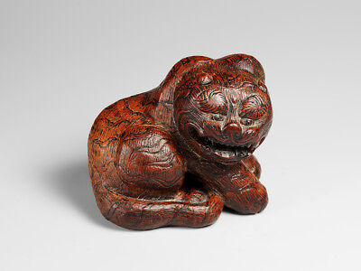 Contemporary wooden * Tiger * Netsuke, unsigned