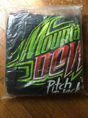 2005 Rare Mountain Dew Pitch Black Inflatable Cauldron Advertising Cooler