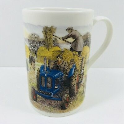 "Dunoon Tea Cup Coffee Mug Tractors - Richard Partis  ""fordson 1950"""