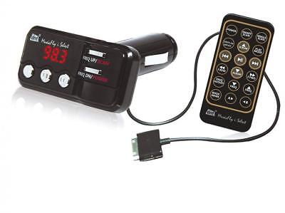 DNT MusicFly i-select 87.6-107.9MHz Wired Black FM transmitter -...