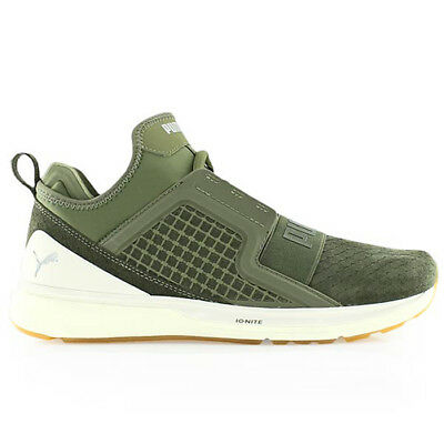New Puma Women s Kids Iginite Limitless Olive Lightweight Casual Atheltic  Sneake bf7f8f458