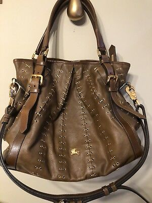 Authentic Burberry Limited Edition Collection Leather Handbag 4e90a9be29cab