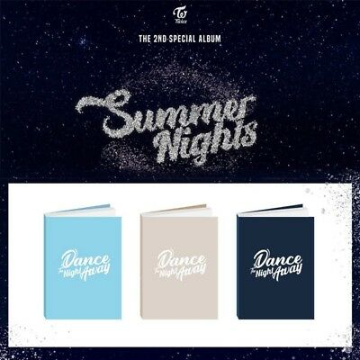 Twice 2Nd Special Album Summer Nights Album + Version Select