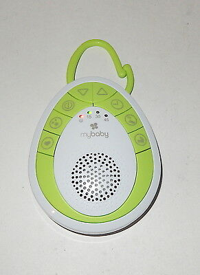 MyBaby Soundspa On‐the‐Go, Plays Soothing Sounds w clip, MYB‐S110