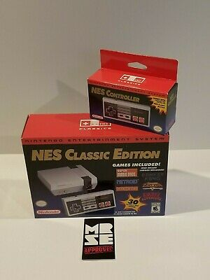 Nintendo NES Classic Edition Entertainment System Mini Console + Controller New
