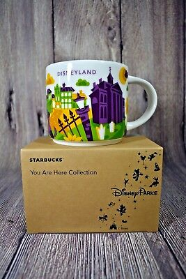 Disney Parks Disneyland New Orleans Square You Are Here Starbucks  Mug