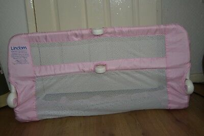 Lindam safe & secure bed guard rail pink boxed fast dispatch