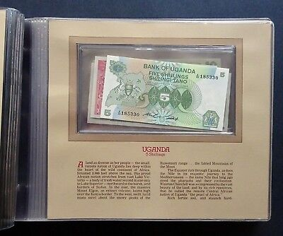The Most Treasured Banknotes of the World - 38 mint uncirculated worldwide notes