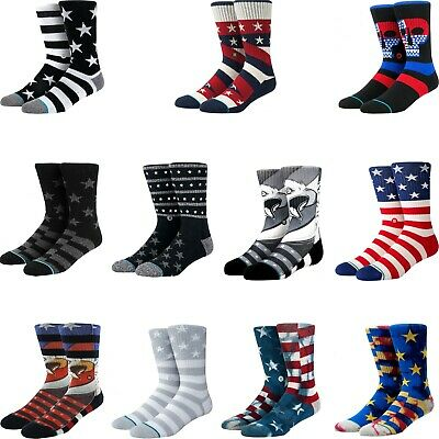 Stance Men's Stars And Stripes Athletic Crew Socks