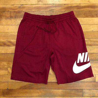 d2fd5d37d4da NEW NIKE SB Grey Dri fit Sunday Shorts Team Red Maroon SAMPLE Size ...