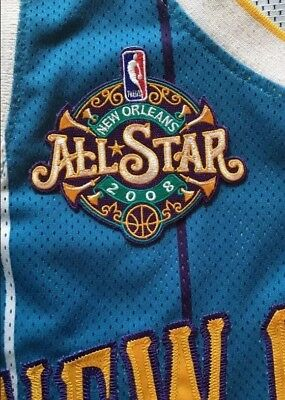 buy online db383 45d67 NEW 2008 NBA All Star Game Jersey Patch New Orleans Hornets Pelicans Chris  Paul