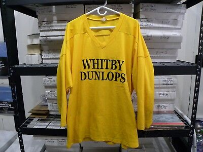 Whitby Dunlops Player Worn Practice Jersey #7