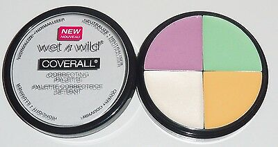 Wet n Wild CoverAll Correcting Palette - 349 COLOR COMMENTARY / Brand New Sealed
