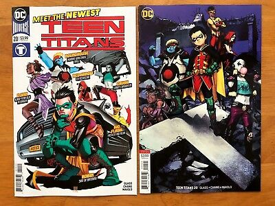 Teen Titans 20 A + B Shirahama Variant Set 1st App Crush  DC 2018 NM+