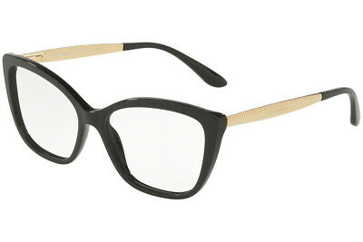 bb817fdad878 Authentic Dolce   Gabbana Eyeglasses DG3280 501 Black Frames 54mm Rx-ABLE