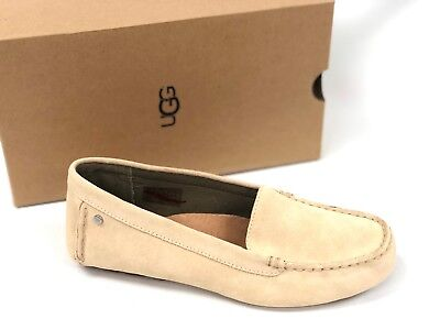 1894e2a9f51 UGG Australia Women s Milana Water Res Suede Loafers Cream Flats Shoes  1096572