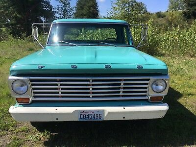 1967 Ford F-100  1967 Ford F100 long box 2wd 390
