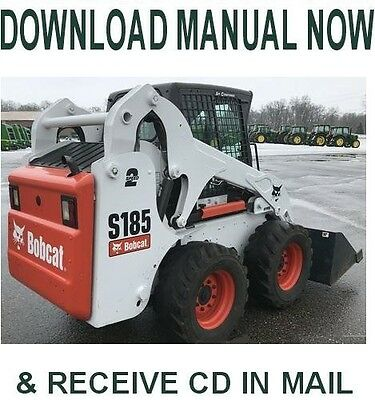 Bobcat s175 s185 turbo skid steer loader service manual on a cd bobcat s185 skid steer loader factory service repair manual on cd fandeluxe Gallery