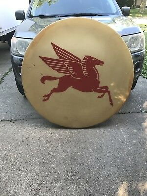 VINTAGE PEGASUS MOBIL OIL SIGN Gas Station Gas Pump 4FT ....48 Inches
