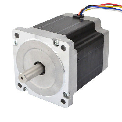 Nema 34 Stepper Motor 7.07Nm 98mm Length 8 Wires CNC Milling Router/CNC Machine
