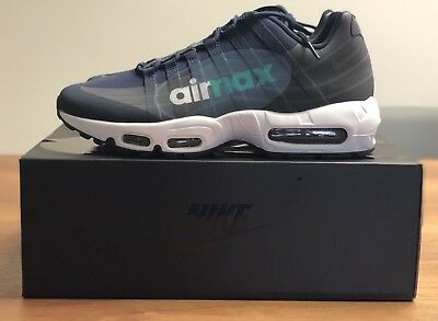 best service ea916 b032d SIZE 8.5 Mens Nike Air Max 95 NS GPX SP Shoes Obsidian Sneakers AJ7183 400