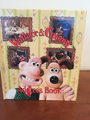 Wallace and Gromit Collectible Address Book - New, Rare