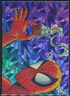 1992 Spider-Man II 30th Anniversary Prisms Trading Card #P10 Creating