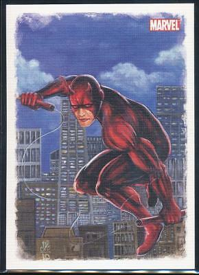 2009 Spider-Man Archives Allies Trading Card #A3 Daredevil