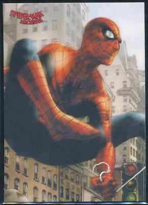 2009 Spider-Man Archives Trading Card #6 Web-Swinging