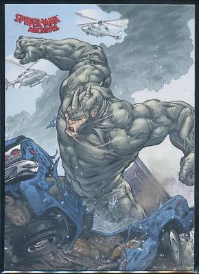 2009 Spider-Man Archives Trading Card #31 Rhino