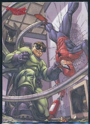 2009 Spider-Man Archives Trading Card #37 Spider-Man vs. Doctor Octopus