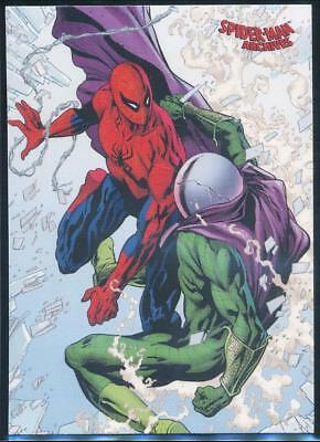 2009 Spider-Man Archives Trading Card #47 Spider-Man vs. Mysterio