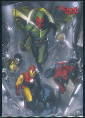 2009 Spider-Man Archives Trading Card #67 Avengers