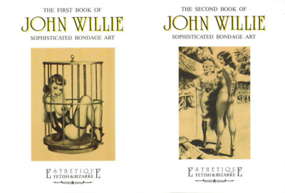 JOHN WILLIE. The first and the second book. 2 Vol. Sophisticated Art. Glittering