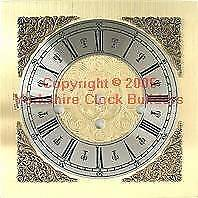 Mantle clock dial 200mm x 200mm suitable for Hermle - 340-020 FREE P&P