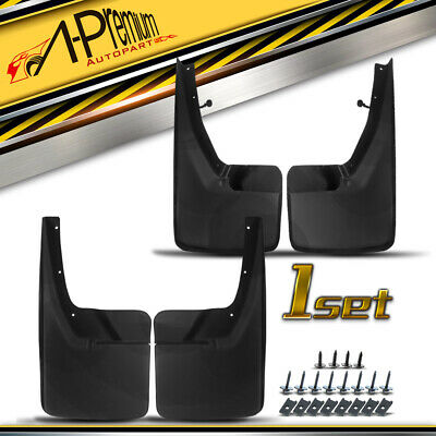 A-Premium Splash Guards Mud Flaps Mudflaps for Dodge Ram 1500 2500 3500 2009-2017 Without Factory Fender Flares Front and Rear 4-PC Set