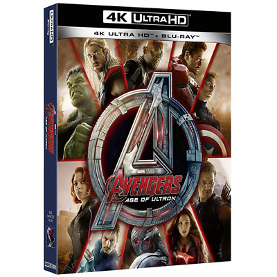 Avengers - Age Of Ultron (Uhd)  [Blu-Ray Nuovo]